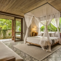 Jeeva Santai Villas - Gardenview Suites - Luxury Beachfront Boutique Resort Hotel Villa Honeymoon Bulan Madu Lombok