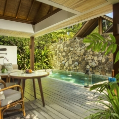 Jeeva Santai Pool Villas - Beachfront luxury boutique resort Lombok, Indonesia