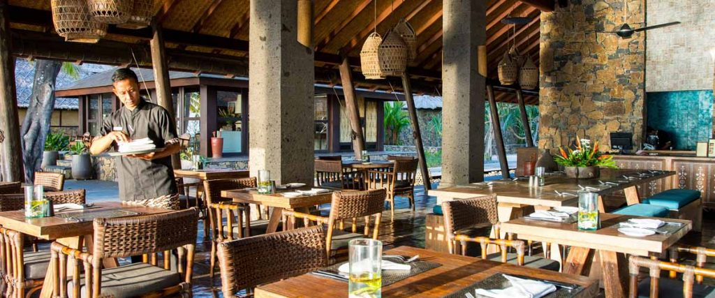 Lombok, Indonesia, Beachfront dining, Restaurant